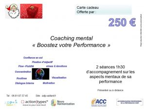 Coaching Mental booster votre performance